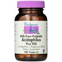 Bluebonnet Probiotic Acidophilus Plus FOS Review
