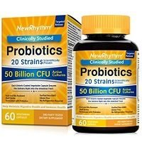 NewRhythm Probiotics 50 Billion CFU Review