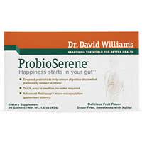 Dr. David Williams Probio Serene Review