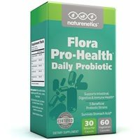 Naturenetics Flora Pro-Health Daily Probiotic Review