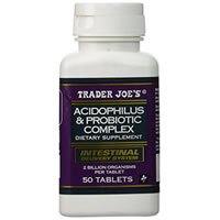 Trader Joes Acidophilus and Probiotic Complex Review