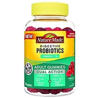 Nature Made Dual Action Probiotic + Energy B12 Adult Gummies Review